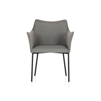 St James Outdoor Dining Chair  - light grey