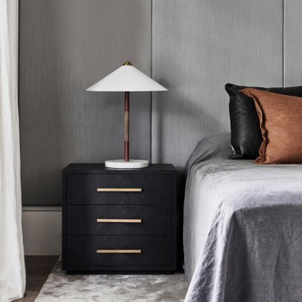 Tao Leather Table Lamp