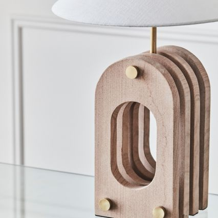 Iyah Sandstone Table Lamp
