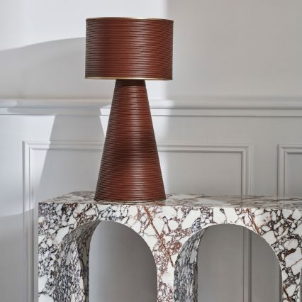 Henderson Leather Table Lamp