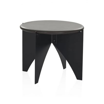 Baleno Concrete Side Table - lava/black