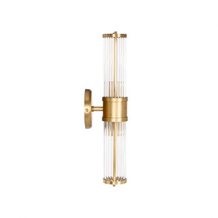 Glass Rod Wall Sconce