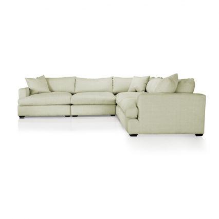 Longbeach Jumbo Modular Sofa Chaise Left Hand Facing