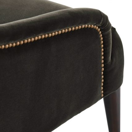 Dresden Chair with Studs - Fully Upholstered