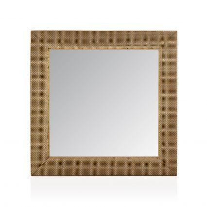 Farlen Square Metal Mirror