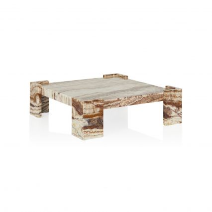 Gypsum Marble Coffee Table
