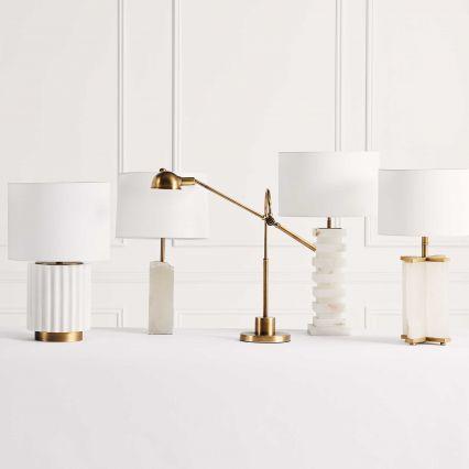 Saint Germain Marble Table Lamp