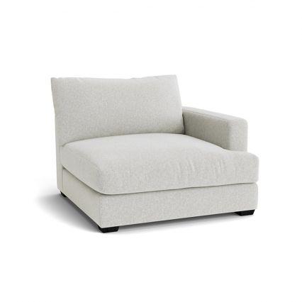 Longbeach Jumbo Modular Sofa Chaise Right Hand Facing
