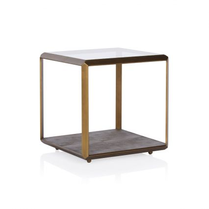 Max Glass Side Table