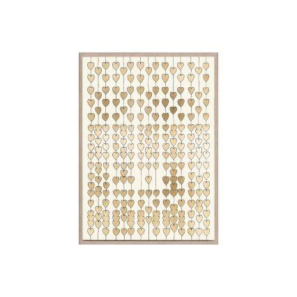 Cartier Heart Strings Wall Art