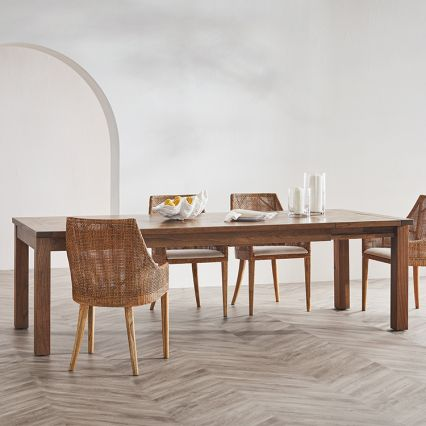 French Farmhouse Extension Dining Table