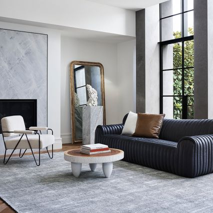 Aspen Leather Sofa