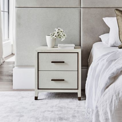 Sabine Side Table with Drawers