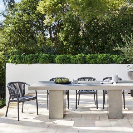 Abbott Concrete Indoor/Outdoor Dining Table